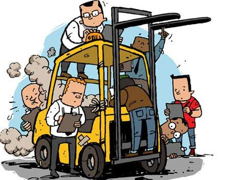 ispezione carrello elevatore