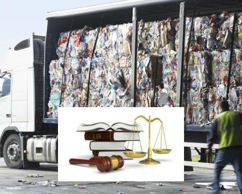 trasporto rifiuti legge